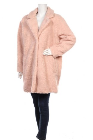 Дамско палто ONLY, Размер XL, Цвят Розов, Полиестер, Цена 91,50лв.