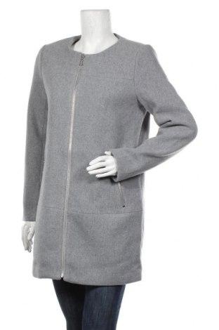 Palton de femei ONLY, Mărime M, Culoare Gri, 70% poliester, 30% lână, Preț 268,91 Lei