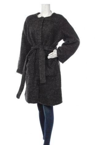 Дамско палто ONLY, Размер XL, Цвят Сив, 40% полиестер, 30% вълна, 30% акрил, Цена 104,25лв.