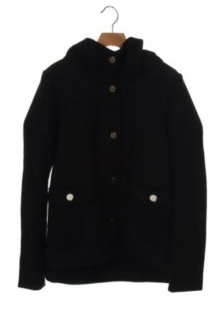 Dámský kabát  ONLY, Velikost XS, Barva Černá, 90% polyester, 10% vlna, Cena  968,00Kč