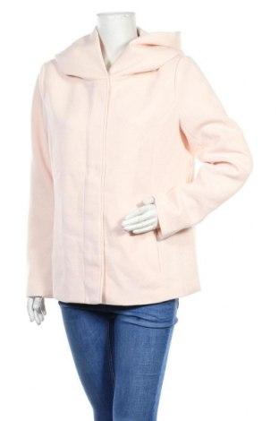 Дамско палто ONLY, Размер XL, Цвят Розов, 85% полиестер, 15% памук, Цена 51,75лв.