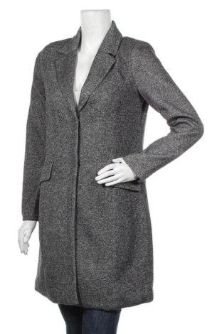 Дамско палто ONLY, Размер S, Цвят Сив, 85% полиестер, 15% памук, Цена 66,75лв.