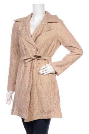 Palton de femei Please, Mărime M, Culoare Roz, 60% bumbac, 40% poliamidă, Preț 367,60 Lei