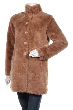 Дамско палто Rino & Pelle, Размер S, Цвят Кафяв, Полиестер, Цена 207,35лв.