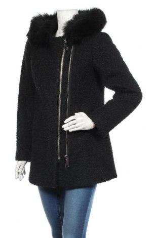 Дамско палто S.Oliver, Размер M, Цвят Черен, Полиестер, Цена 99,40лв.