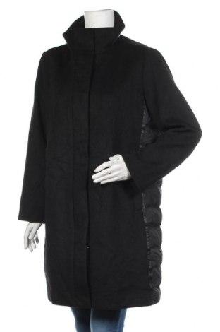 Дамско палто S.Oliver, Размер M, Цвят Черен, 70% полиестер, 30% вълна, Цена 153,30лв.