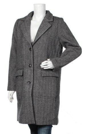 Дамско палто Saint Tropez, Размер M, Цвят Сив, 70% полиестер, 30% вълна, Цена 113,40лв.