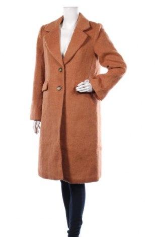 Дамско палто Soaked In Luxury, Размер M, Цвят Кафяв, 70% полиестер, 30% вълна, Цена 131,40лв.