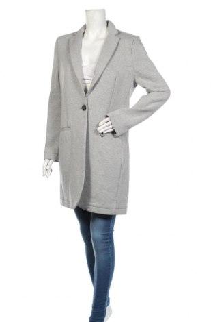 Дамско палто Superdry, Размер L, Цвят Сив, 45% памук, 37% полиестер, 12% полиамид, 6% еластан, Цена 216,75лв.