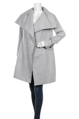 Дамско палто Tom Tailor, Размер S, Цвят Сив, 68% полиестер, 13% вискоза, 10% вълна, 5% полиакрил, 2% памук, 2% полиамид, Цена 118,30лв.