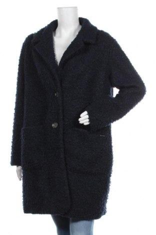 Γυναικείο παλτό Tom Tailor, Μέγεθος XXL, Χρώμα Μπλέ, Πολυεστέρας, Τιμή 48,06€