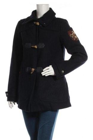 Γυναικείο παλτό Tom Tailor, Μέγεθος L, Χρώμα Μπλέ, 60% μαλλί, 40% πολυεστέρας, Τιμή 57,15€