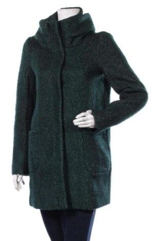 Γυναικείο παλτό Tom Tailor, Μέγεθος S, Χρώμα Πράσινο, 65% πολυεστέρας, 35% μαλλί, Τιμή 53,58€
