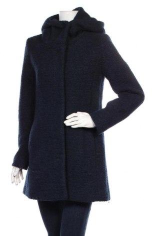 Γυναικείο παλτό Tom Tailor, Μέγεθος L, Χρώμα Μπλέ, 50% πολυεστέρας, 50% μαλλί, Τιμή 64,92€