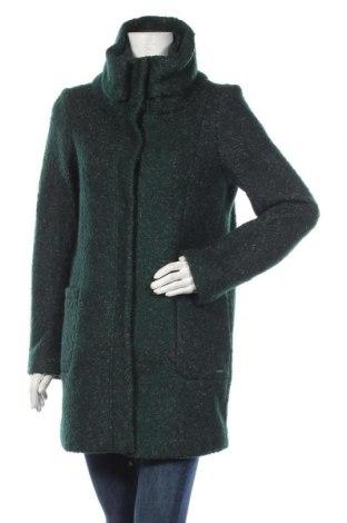 Γυναικείο παλτό Tom Tailor, Μέγεθος M, Χρώμα Πράσινο, 65% πολυεστέρας, 35% μαλλί, Τιμή 59,25€