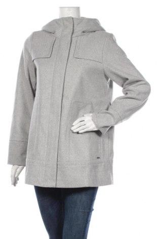 Γυναικείο παλτό Tom Tailor, Μέγεθος M, Χρώμα Γκρί, 61% πολυεστέρας, 17% βισκόζη, 11% μαλλί, 4% πολυαμίδη, 4% πολυακρυλικό, 3% βαμβάκι, Τιμή 53,58€