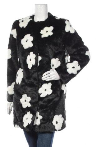 Dámský kabát  Topshop, Velikost M, Barva Černá, Akryl , Cena  1403,00Kč