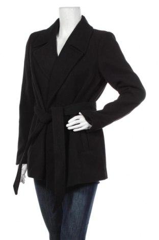Дамско палто Vero Moda, Размер XL, Цвят Черен, 89% полиестер, 10% вискоза, 1% еластан, Цена 66,75лв.