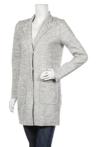 Дамско палто Vila, Размер S, Цвят Сив, 70% полиестер, 30% вълна, Цена 59,25лв.