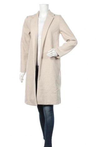 Дамско палто Zara, Размер M, Цвят Бежов, Полиестер, Цена 96,75лв.