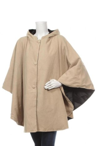 Palton polar de damă, Mărime M, Culoare Bej, Poliester, Preț 83,56 Lei
