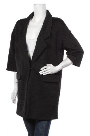 Дамско сако, Размер L, Цвят Черен, 97% полиестер, 3% еластан, Цена 28,35лв.