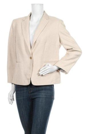Dámské sako  Ann Taylor, Velikost L, Barva Krémová, 57% bavlna, 29% viskóza, 13% polyester, 1% elastan, Cena  1036,00Kč