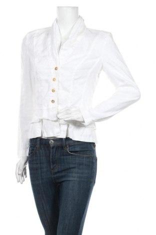 Дамско сако Apanage, Размер S, Цвят Бял, Лен, Цена 20,80лв.