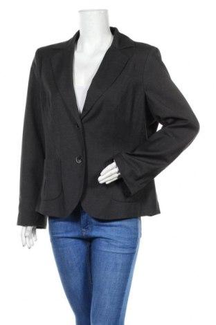 Дамско сако Apanage, Размер XL, Цвят Сив, 64% полиестер, 34% вискоза, 2% еластан, Цена 20,80лв.