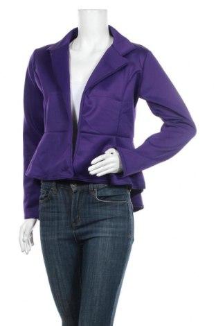 Дамско сако Ash, Размер M, Цвят Лилав, 95% полиестер, 5% еластан, Цена 32,13лв.