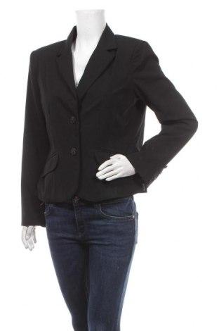 Дамско сако Background, Размер L, Цвят Черен, 65% полиестер, 32% вискоза, 3% еластан, Цена 27,30лв.