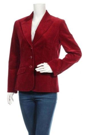 Γυναικείο σακάκι Canda, Μέγεθος M, Χρώμα Κόκκινο, 97% βαμβάκι, 3% ελαστάνη, Τιμή 17,54€