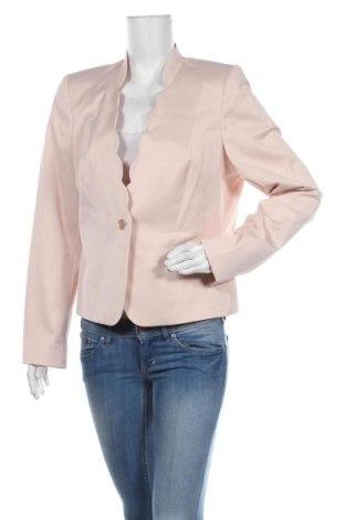 Дамско сако Comma,, Размер XL, Цвят Розов, 50% полиестер, 47% памук, 3% еластан, Цена 120,45лв.