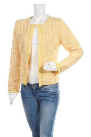 Дамско сако Cream, Размер M, Цвят Жълт, 40% памук, 40% полиестер, 20% вискоза, Цена 96,75лв.