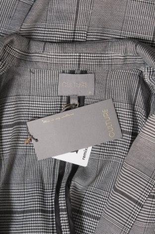 Дамско сако Culture, Размер M, Цвят Сив, 95% полиестер, 5% еластан, Цена 21,95лв.