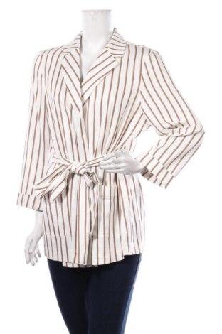 Дамско сако Dorothy Perkins, Размер XL, Цвят Бял, 83% вискоза, 17% памук, Цена 37,92лв.
