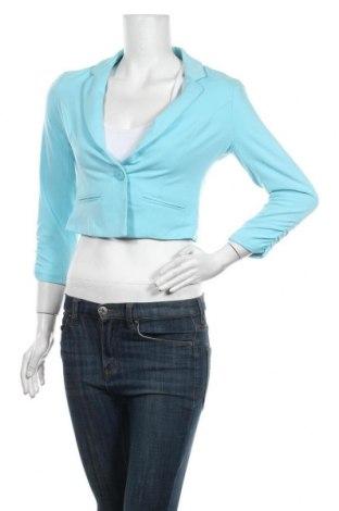 Γυναικείο σακάκι Fb Sister, Μέγεθος S, Χρώμα Μπλέ, Τιμή 14,29€