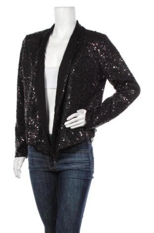 Дамско сако Gina, Размер XL, Цвят Черен, 95% полиестер, 5% еластан, Цена 27,30лв.