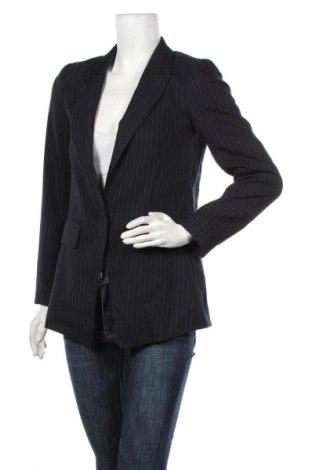 Дамско сако H&M, Размер XS, Цвят Син, 64% полиестер, 35% вискоза, 1% еластан, Цена 27,30лв.
