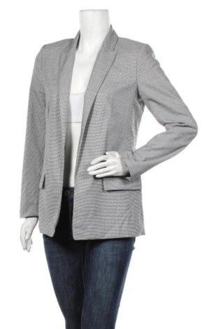 Дамско сако H&M, Размер S, Цвят Сив, 66% полиестер, 32% вискоза, 2% еластан, Цена 25,20лв.