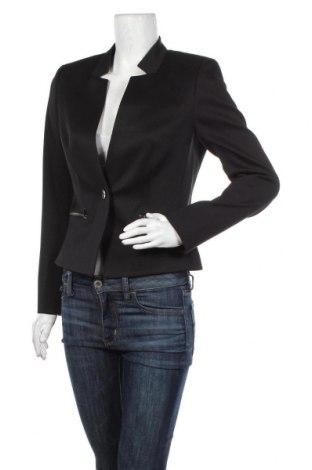 Дамско сако Hugo Boss, Размер M, Цвят Черен, 52% памук, 45% полиестер, 3% еластан, Цена 233,35лв.