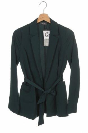 Дамско сако Kiomi, Размер XS, Цвят Зелен, 95% полиестер, 5% еластан, Цена 57,85лв.