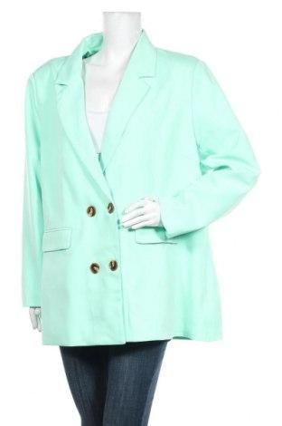 Дамско сако Missguided, Размер 3XL, Цвят Зелен, Полиестер, Цена 49,77лв.