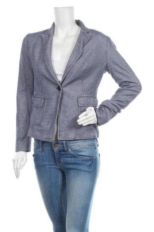 Γυναικείο σακάκι More & More, Μέγεθος M, Χρώμα Μπλέ, Βαμβάκι, Τιμή 17,54€