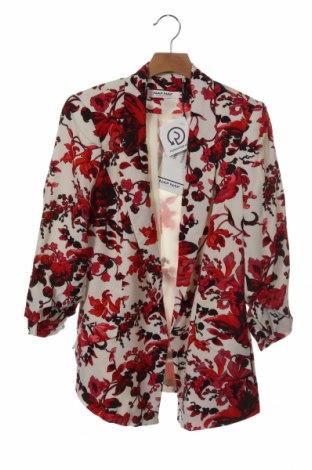 Дамско сако Naf Naf, Размер XS, Цвят Многоцветен, Вискоза, Цена 89,25лв.