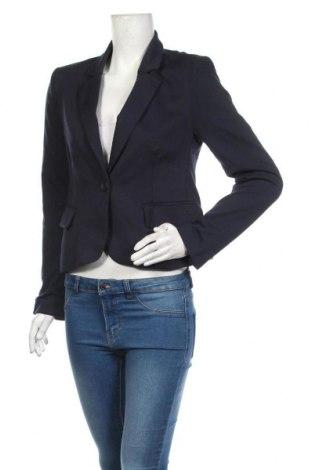 Дамско сако ONLY, Размер L, Цвят Син, 80% полиестер, 15% памук, 5% еластан, Цена 34,50лв.