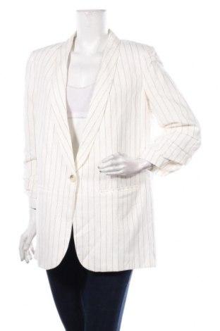 Дамско сако Opus, Размер L, Цвят Бял, 54% лен, 46% памук, Цена 119,25лв.