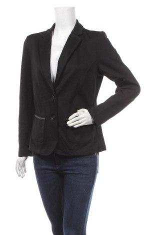 Дамско сако S.Oliver, Размер L, Цвят Черен, 44% полиестер, 40% вискоза, 12% памук, 4% еластан, Цена 27,30лв.