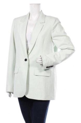 Дамско сако Selected Femme, Размер L, Цвят Зелен, 62% полиестер, 33% вискоза, 5% еластан, Цена 109,85лв.