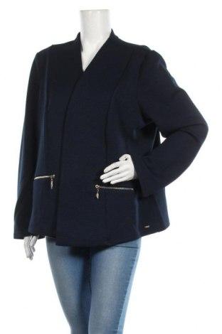 Γυναικείο σακάκι Tom Tailor, Μέγεθος 3XL, Χρώμα Μπλέ, 98% πολυεστέρας, 2% ελαστάνη, Τιμή 32,15€